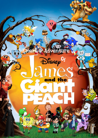 Emerl's Adventure's Of James & The Giant Peach Poster