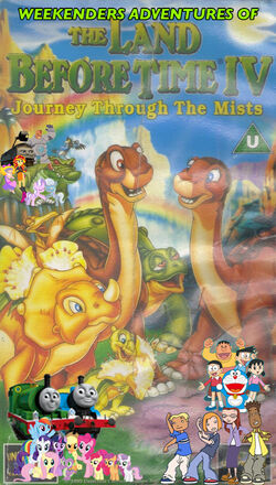 Weekenders Adventures of The Land Before Time IV (Remake) Poster