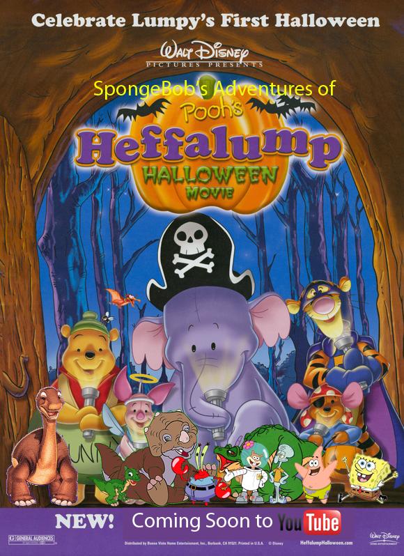 spongebobs adventures of poohs heffalump halloween movie posterjpg - Halloween Movie History