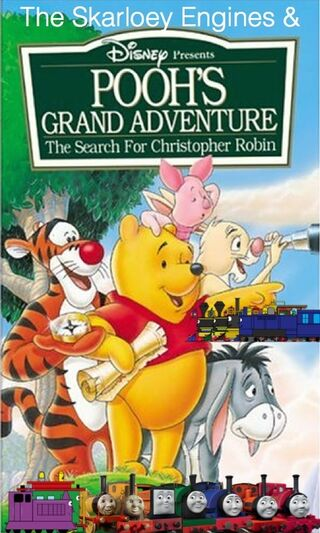 The Skarloey Engines & Pooh's Grans Adventure poster.