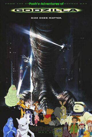 File:Pooh's Adventures of Godzilla (1998) poster.jpg