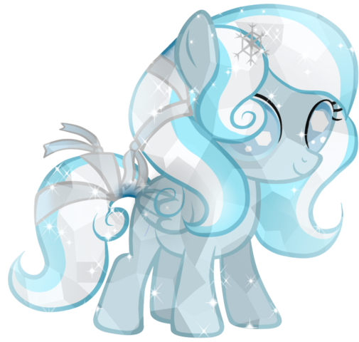 File:Snowdrop crystal pony by posey 11-d75bms2.png