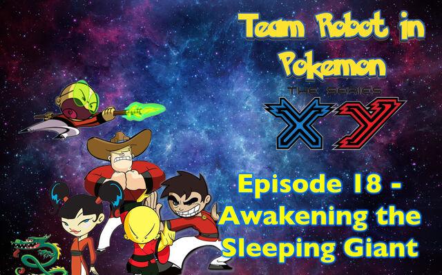 File:Episode 18 Awakening the Sleeping Giant Poster.jpg