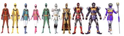 Mystic Force Rangers