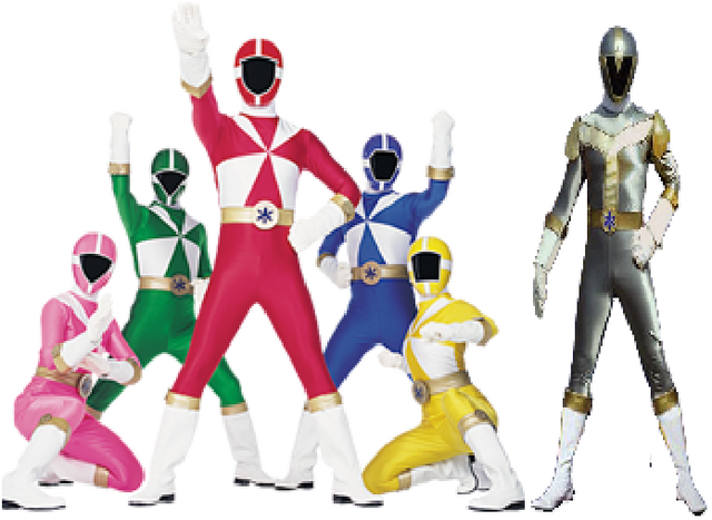 File:Lightspeed Rangers and the Titanium Ranger.png