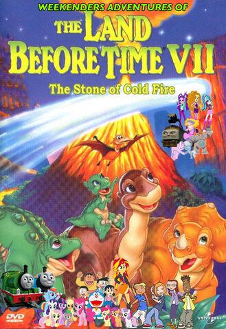 File:Weekenders Adventures of The Land Before Time VII (Remake) Poster.jpg