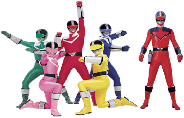 File:Time Force Rangers Vector.png
