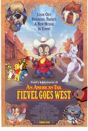 Pooh's Adventures of An American Tail Fievel Goes West Poster