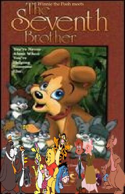 Winnie the Pooh Meets The 7th Brother (Version 2) poster by BrianDuBose