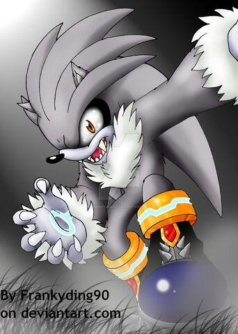 File:Silver the werehog by frankyding90-d3bpgcn.jpg