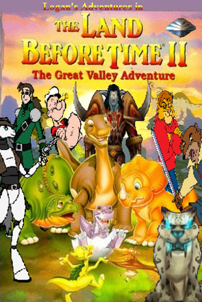 Logan Land Before Time II Poster