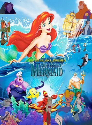 File:Robin Hood and Alice's Adventures of the Little Mermaid 2nd poster.jpg