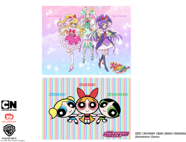 File:Maho Girls Precure and Powerpuff Girls.png