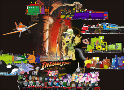 Thomas and Twilight's Adventure with Indiana Jones and the Temple of Doom II