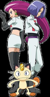 Team Rocket trio XY 2