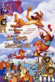 Alex's Adventures of All Dogs Go to Heaven 2 poster