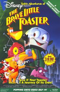 Pooh's Adventures of The Brave Little Toaster Poster