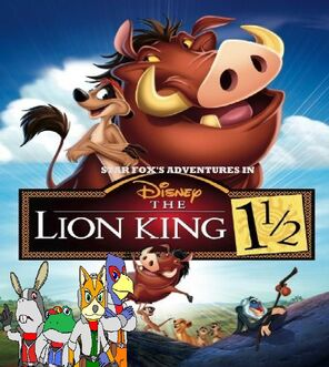 Star Fox's Adventures in The Lion King 1 1.2