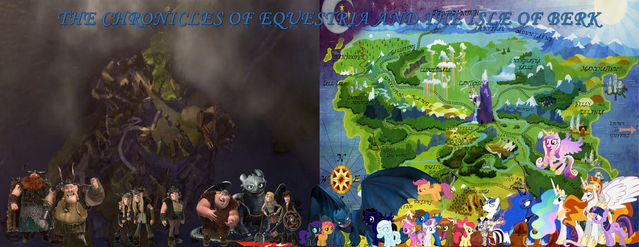 File:The Chronicles of Equestria and the Isle of Berk.png