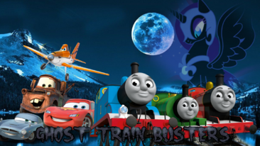 Ghost Train Busters Poster