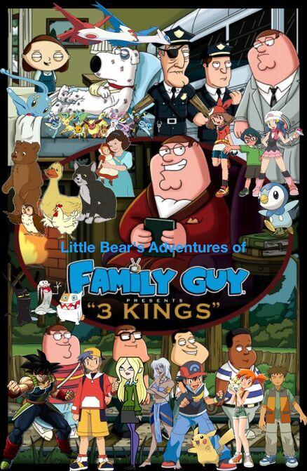 Little Bear's Adventures of Family Guy- Three Kings