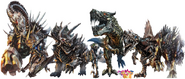 The Royal Crusaders and the Dinobots