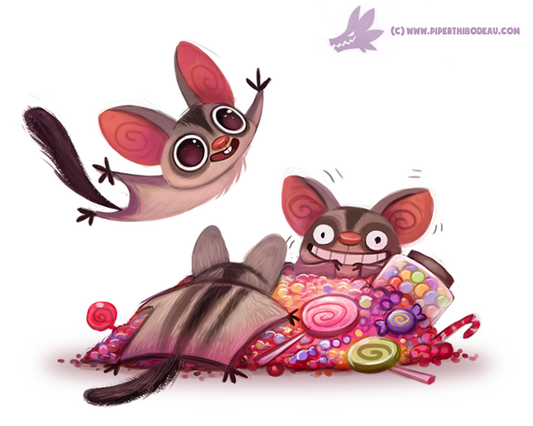 File:Daily paint 1086 sugar gliders by cryptid creations-d9gds5n.png
