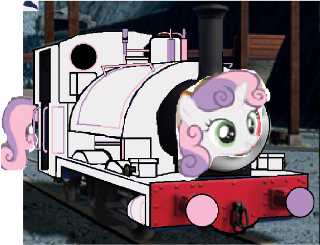 File:MLP Sweetie Belle as Thomas character.png