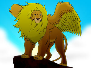 Winged Lion 001 copy