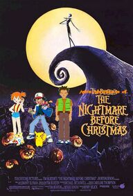 Ash's Adventures of The Nightmare Before Christmas poster