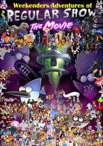 File:Weekenders Adventures of Regular Show- The Movie (Redo poster).jpg