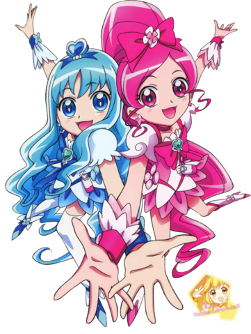 File:Cure blossom and marine render by xxsweetlemonadexx-d5o198d.png