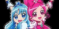 Tsubomi Hanasaki and Erika Kurumi (HeartCatch Pretty Cure)