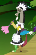 Discord as a cleaning lady