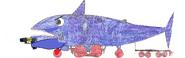 Sharky with tazer gun .5