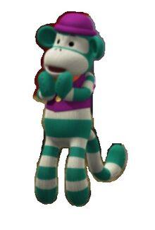 The Green Sock Monkey