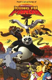 Pooh's adventures of Kung Fu Panda Poster