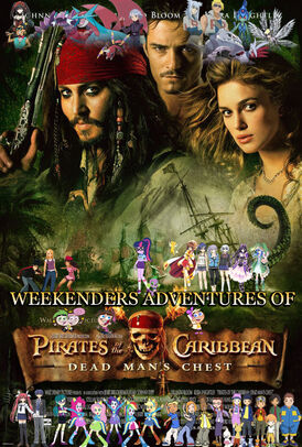 Weekenders Adventures of Pirates of the Caribbean Poster 2