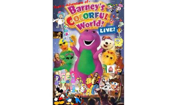 File:Pooh's Adventures of Barney's Colorful World LIVE! Logo.jpg