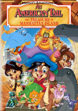 File:Littlefoot's Adventures of An American Tail; The Treasure of Manhattan Island Poster.jpg