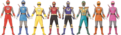 Ninja Rangers 2
