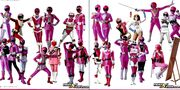 All Pink Rangers