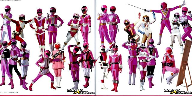 File:All Pink Rangers.jpeg