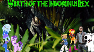 Wrath of the Indominus Rex poster