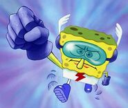 SpongeBob as The Quickster