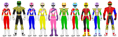 Mighty Morphin Fusion Mode