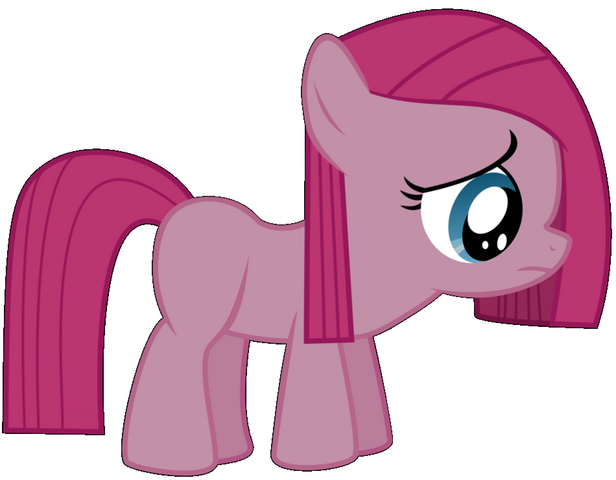 File:Pinkie as a filly (before the rainboom).png