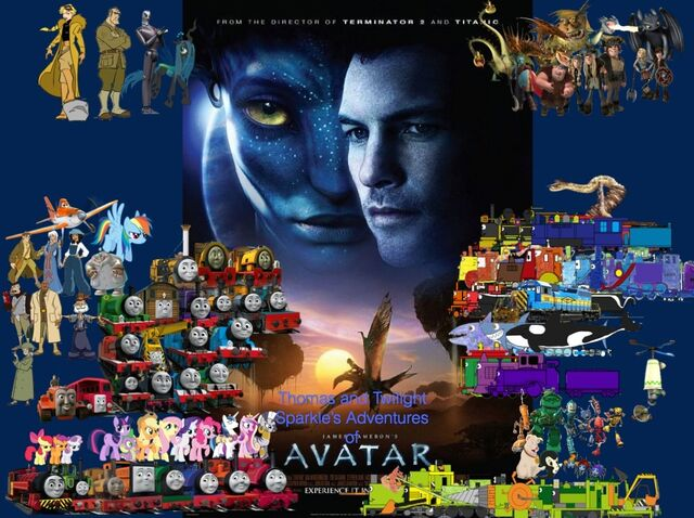 File:Thomas and Twilight Sparkle's Adventures of Avatar poster.jpg