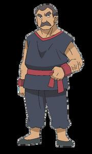 Don George BW anime art-1-