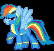 Rainbow Dash as a Wonderbolt